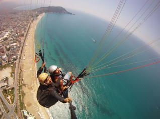 Unforgettable Tandem Paragliding flights in Alanya