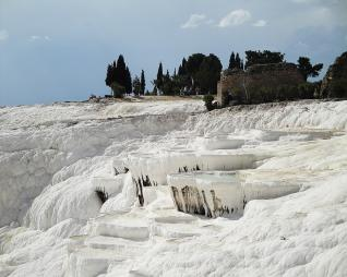 Daily trip to UNESCO World Heritage Site: Pamukkale from Belek