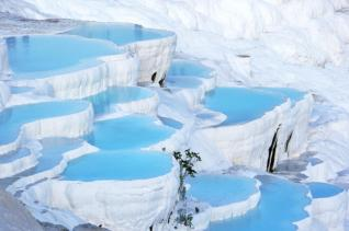 Daily trip to Pamukkale from Side Turkey