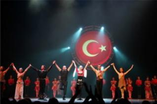Fire of Anatolia Dance show at Aspendos Arena from Kemer