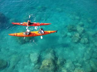 Kas Turkey: Sea Kayaking at Kekova Sunken City