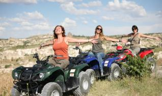 Quad Bike tour through the beautiful valleys of Cappadocia from Göreme