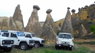 Half Day Jeep Safari tour Along the Magical Valleys of Cappadocia