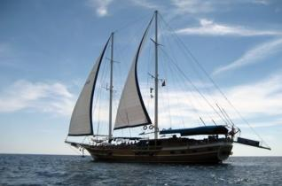 Fethiye: Blue Cuise Cabin Charter from Fethiye to Olympos 4 days / 3 nights