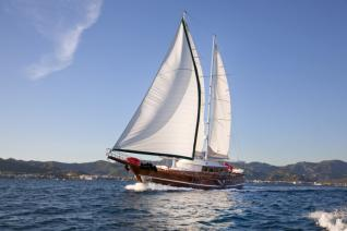 Blue Cruise Cabin charter from Fethiye to 12 Islands 4 Days 3 Nights