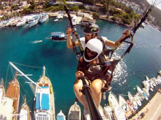 Unforgettable Tandem Paragliding Flight in Kaş und Kalkan