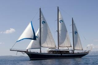 Blue Voyage Cabin charter from Rhodes Greece