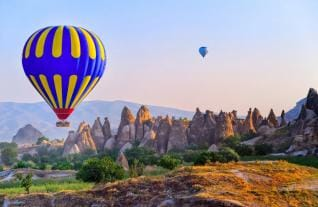 2 Day Trip to magical Landscape Cappadocia from Belek