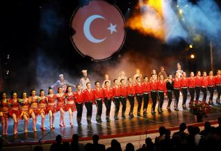 The Legendary Dance show Fire of Anatolia at Aspendos Arena