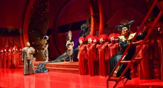 Internationales Aspendos-Opern- und Ballettfestival im antiken Aspendos-Theater
