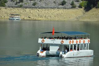Green Canyon tour at the Taurus Mountains with Boat trip at the Lake