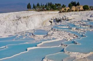 2-Day Trip to UNESCO World Heritage Site Pamukkale from Alanya