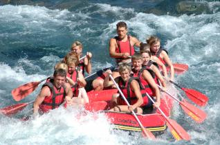 River Rafting Full Day Fun at National Park of Antalya