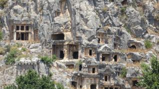 Lycian Tombs of Myra and Kekova Sunken City tour from Antalya