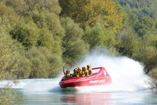 Speed Boat Ride at Manavgat River of Side Turkey