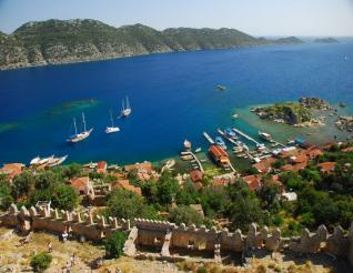 Lycia tour with Boat trip at the Sunken City Kekova from Kemer